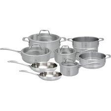 Spirit 3-Ply 12 Piece Stainless Steel Cookware Set