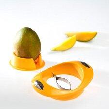 17,5 cm Mangoschneider mit Fruchthalter