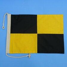 Letter L Cloth Nautical Alphabet Flag Wall Décor