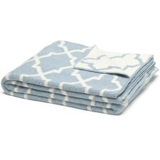 Eco Designer Morocco Reversible Throw Blanket