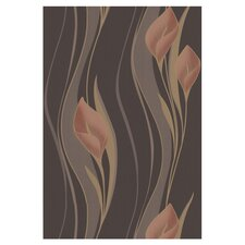"""Serenity Peace 33' x 20.5"""" Floral and Botanical 3D Embossed Wallpaper"""