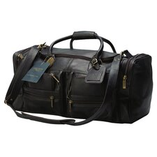 """Executive Sports 17"""" Leather Travel Duffel"""