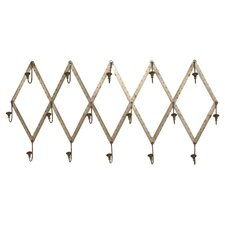 Wall Mounted Ruler Coat Rack