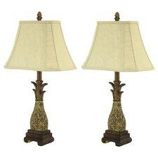 "Shawn Pineapple 26"" Table Lamp Set (Set of 2)"