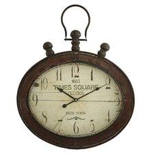 Remington Oval Wall Clock