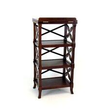 Baron Podium 40 Etagere Bookcase by Wayborn