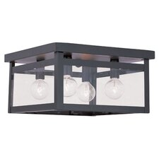 Brundidge 4-Light Flush Mount