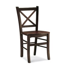 Atena Solid Beech Dining Chair (Set of 2)