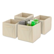 Non-Woven Foldable Cube (Pack of 4) (Set of 4)