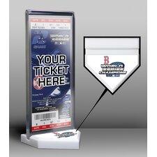 World Series Champions Commemorative Ticket Display