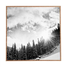 Mountain by Bird Wanna Whistle Framed Photographic Print
