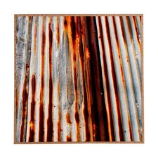 Rusted Lines by Caleb Troy Framed Graphic Art