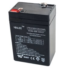 6 Volt Rechargeable Battery For Models KB901 & YJ119