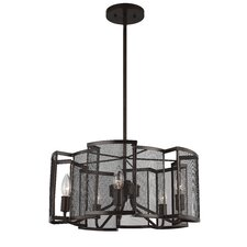 Gemini 5-Light Candle-Style Chandelier