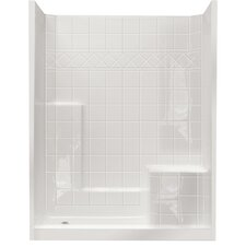Standard Low Threshold System 3 Panels Shower Wall by Ella Walk In Baths