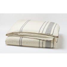 Rippled Stripe Duvet Cover