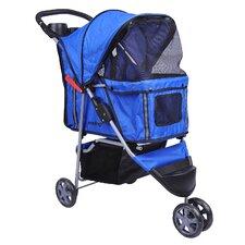 3-Wheel Front & Rear Entry Pet Stroller