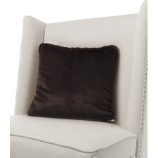 Luxe Solid Faux Fur Throw Pillow by Little Giraffe