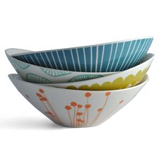 4 Piece Melamine Small Serving Bowl Set (Set of 4)