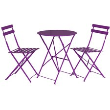 Padstow 2 Seater Bistro Set