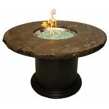 Colonial Fiberglass Dining Fire Pit Table