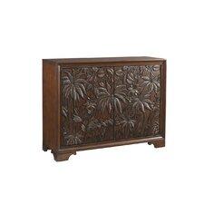 Landara Balboa 2 Drawer Carved Door Cabinet by Tommy Bahama Home