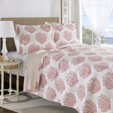 Coral Coast Coverlet Set by Laura Ashley Home
