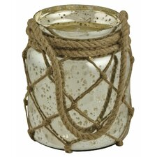 Antiqued Jar Hurricane