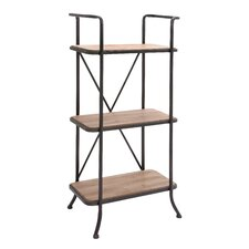 The Useful 56 Etagere Bookcase by Woodland Imports