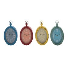 The Must Have Metal Wall Clock (Set of 4)