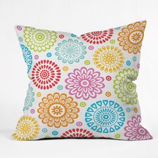 Andi Bird Sausalito Floral Indoor/outdoor  Throw Pillow by DENY Designs