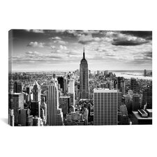 New York City Downtown Canvas Wall Art by Nina Papiorek Photographic Print on Wrapped Canvas
