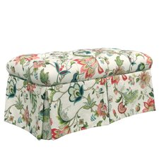 Brissac Upholstered Storage Bedroom Bench by Skyline Furniture