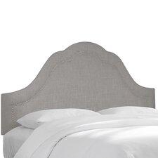 Linen Upholstered Panel Headboard