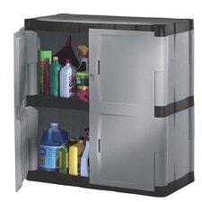 """37"""" H x 36"""" W x 18"""" D 2 Door Storage Cabinet"""
