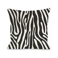 Raffi Zebra Throw Pillow