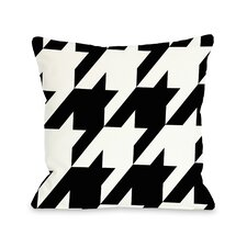 Molly Oversized Houndstooth Throw Pillow