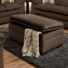 Velocity Storage Ottoman by Simmons Upholstery