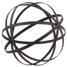 Mesmerizing Decorative Metal Sphere Showpiece Figurine
