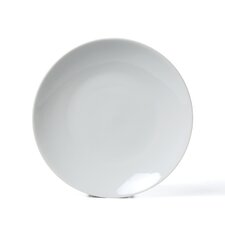 """Royal Coupe White Oversized 8"""" Salad Plate (Set of 6)"""