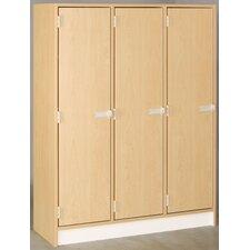 1 Tier 3 Wide Storage Locker