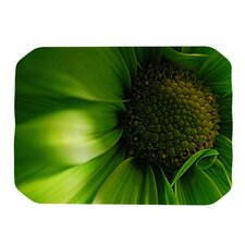 Green Flower Placemat