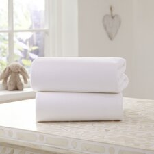 Fitted Cot Sheet (Set of 2)