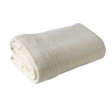 Clair de Lune Cotton Cellular Pram Blanket