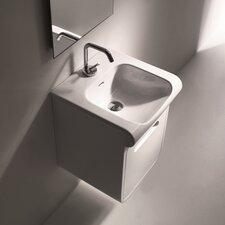 Inka Ceramic Rectangular Vessel Bathroom Sink by WS Bath Collections