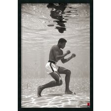 Ali Underwater by Anonymous Framed Photographic Print