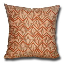 Diamond Zig Zag Decorative Toss Cotton Throw Pillow