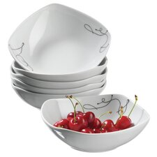 Chanson Cereal Bowl Set (Set of 6)
