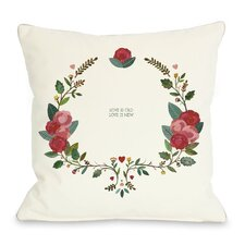 Love is Old Love is New Throw Pillow by One Bella Casa