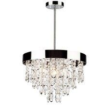 Elegante 4-Light Crystal Chandelier